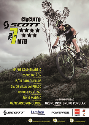 Circuito SCOTT 7 Estrellas Comunidad de Madrid 2018