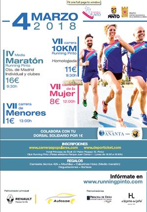 VII Carrera 10km y III Medio Maratón Running Pinto