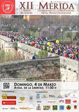 XII Media Maratón - Mérida, Patrimonio de la Humanidad