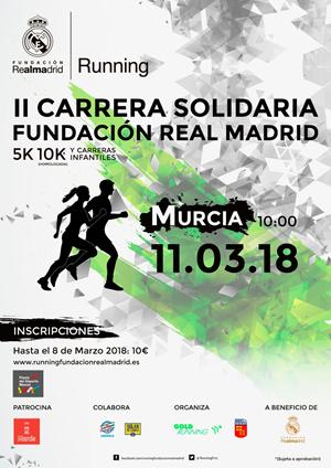 II Carrera Solidaria Fundación Real Madrid - Murcia
