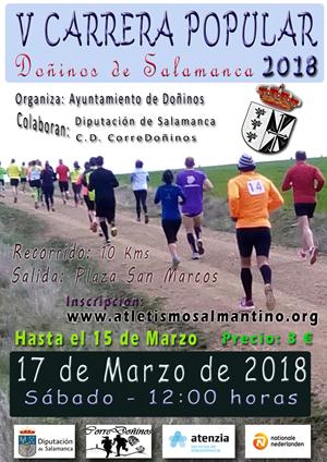 V Carrera Popular de la Parrillada en Doñinos de Salamanca