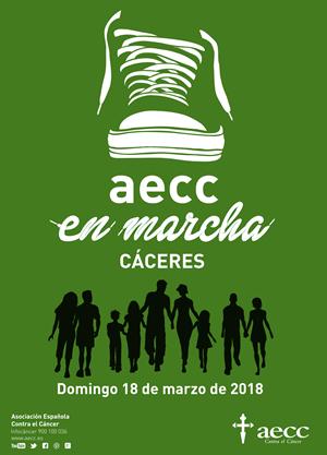 AECC en marcha Cáceres