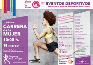III Carrera de la Mujer 2018 San Lorenzo de El Escorial