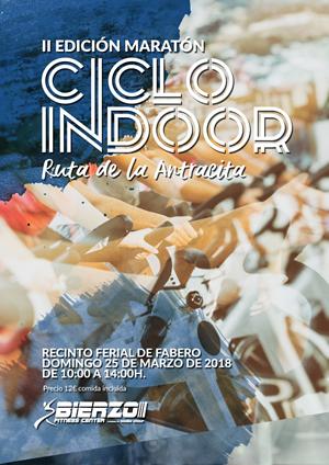"""II Maratón Ciclo Indoor -  """"Ruta de la Antracita"""""""