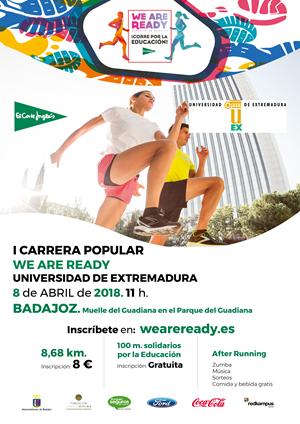 I Carrera Popular We Are Ready UEX