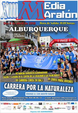 XIII Media Maratón Alburquerque