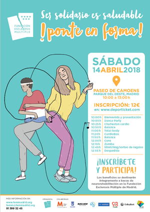 Ser Solidario es Saludable FEMM - ¡Ponte en Forma! 2018
