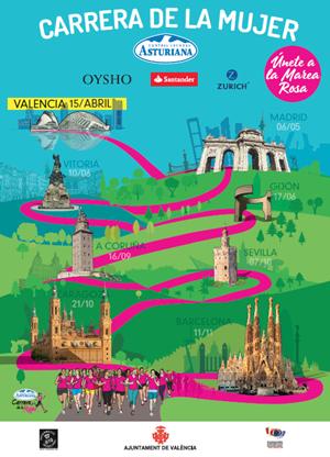 Carrera de la Mujer - Central Lechera Asturiana -  Valencia