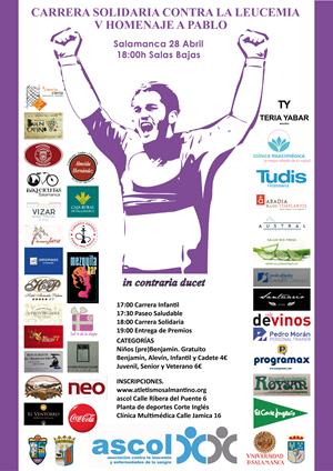 Carrera Solidaria contra la Leucemia, V Homenaje a Pablo