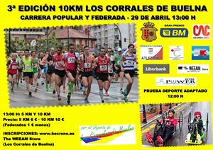 III EDICION 5km y 10km Los Corrales de Buelna