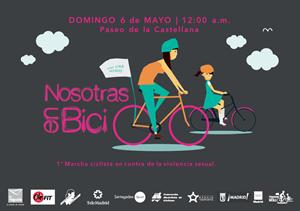 Nosotras en Bici - 1ª Marcha Ciclista en contra de la violencia sexual