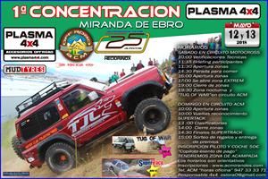 1ª Concentración PLASMA 4x4 Miranda de Ebro