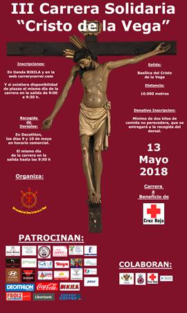 """III Carrera Solidaria """"Cristo de la Vega"""""""