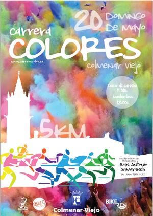 Carrera Colores de Colmenar Viejo 2018