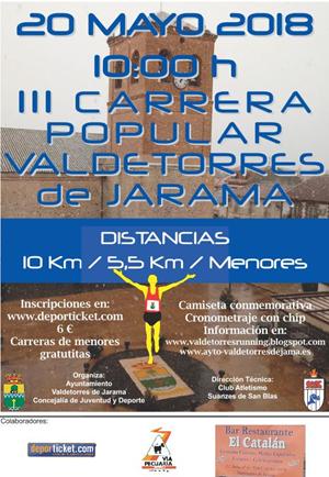 III Carrera Popular de Valdetorres de Jarama