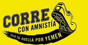 CORRE CON AMNISTIA. Deja tu huella por Yemen