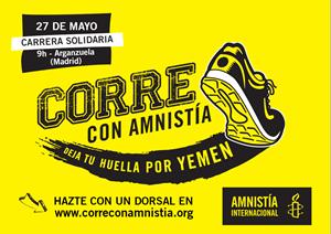 CORRE CON AMNISTIA INTERNACIONAL. Deja tu huella por Yemen