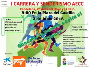 Carrera y Marcha Senderista en favor de AECC Candeleda