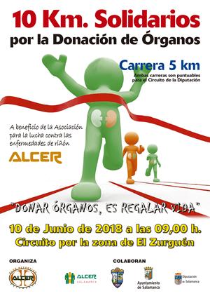 10 kms. Solidarios por la Donación de Órganos