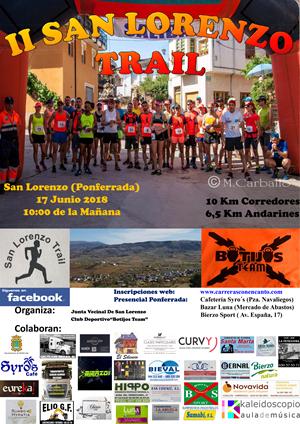"""II Carrera Popular """"San Lorenzo Trail"""""""