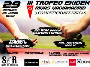 III Trofeo Ekiden Rivas Vaciamadrid