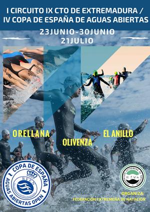I Circuito Campeonato de Extremadura / IV Copa de España de Aguas Abiertas. El Anillo