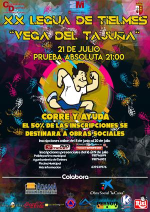 """XX Legua de Tielmes """"Vega del Tajuña"""""""