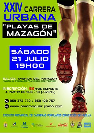 "XXIV Carrera Urbana ""Playas de Mazagón"""