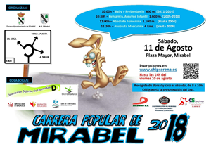 Carrera Popular de Mirabel 2018