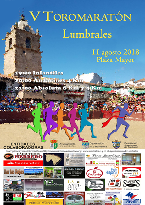 V Carrera Popular de Lumbrales