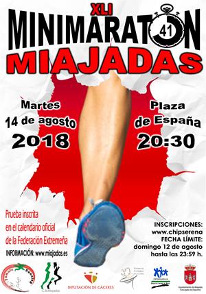 XLI Mini Maratón de Miajadas