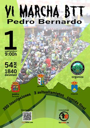 VI Marcha BTT Pedro Bernardo