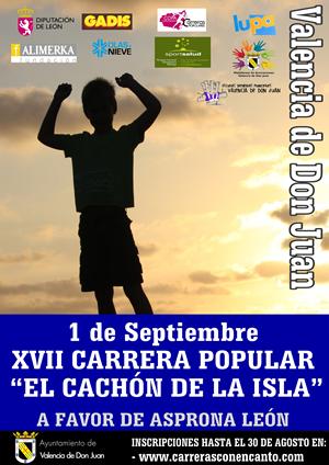 """XVII Carrera Popular """"El Cachón de la Isla"""""""