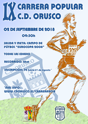 IX Carrera Popular C.D. Orusco