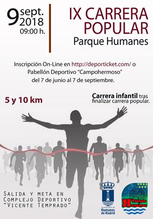 IX Carrera Popular Parque Humanes