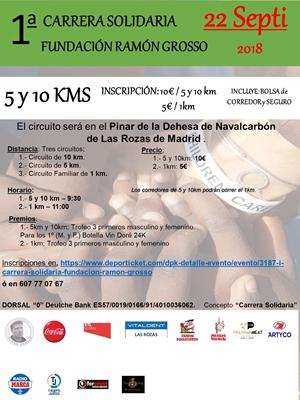 I Carrera Solidaria Fundación Ramón Grosso