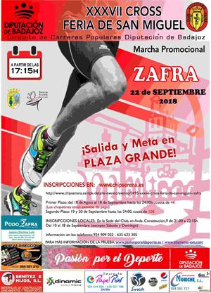 XXXVII Cross Feria de San Miguel -Zafra