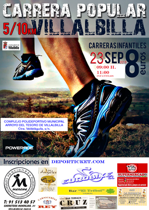 Carrera Popular Villalbilla 2018