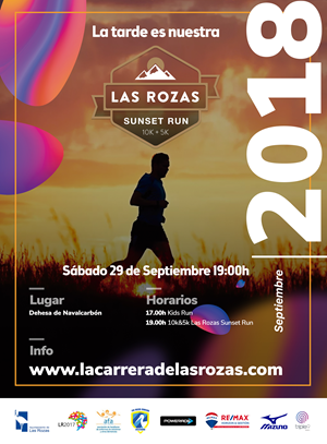 10K & 5K La Rozas Sunset Run 2018