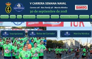 V Carrera Semana Naval 2018