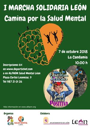 """I Marcha Solidaria """"Camina por la Salud Mental"""". LEÓN"""