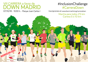 CARRERA DOWN MADRID 10K