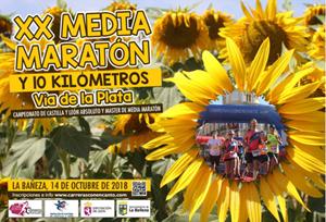 """XX Media Maratón """"Vía de la Plata"""" y 10 Km"""