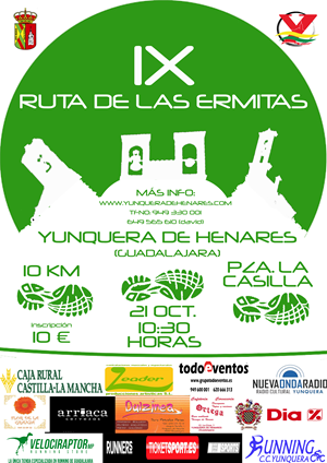 "IX Carrera Popular ""Ruta de las Ermitas"""