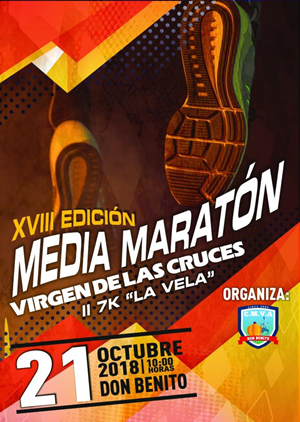 "XVIII Media Maratón ""Virgen de las Cruces"""