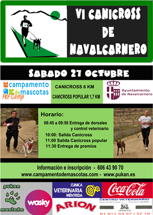 VI Canicross de Navalcarnero