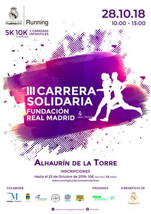 III Carrera Solidaria Fundación Real Madrid Alhaurín de la Torre