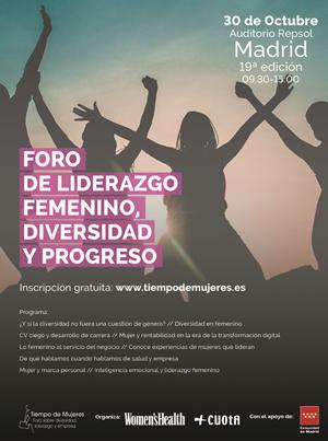 Tiempo de Mujeres. Foro de Liderazgo Femenino, Diversidad y Progreso