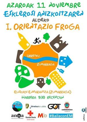 I. Orientazio Froga Urretxu-Zumarraga