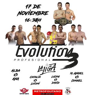 MTR Evo 3. Velada Muay Thai